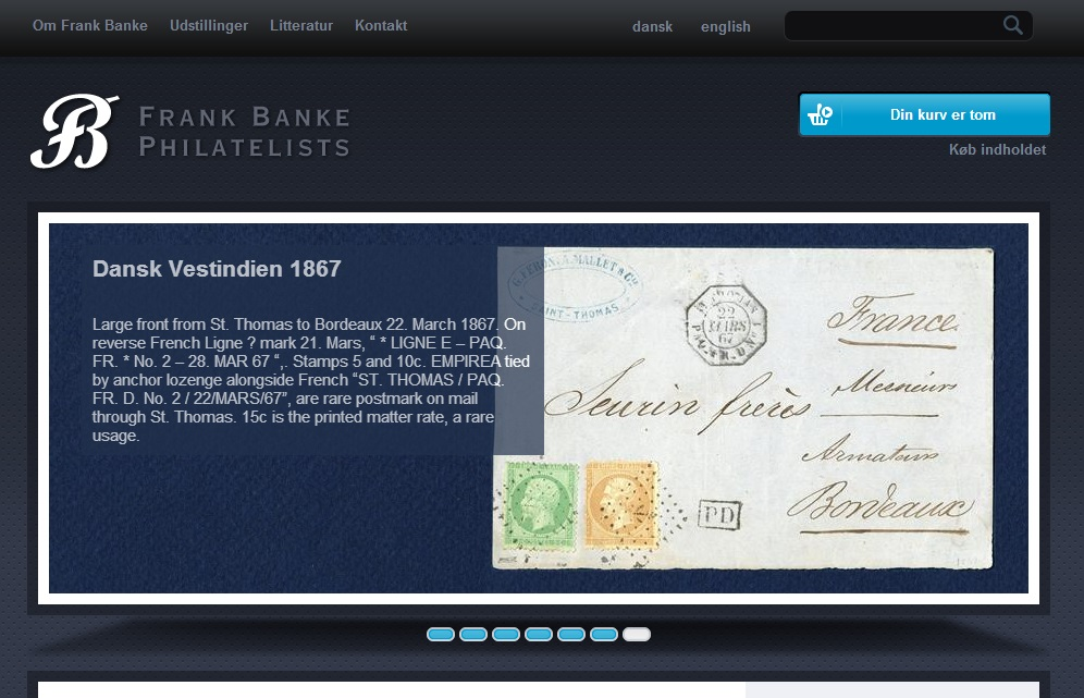 Frank Banke Philatelists