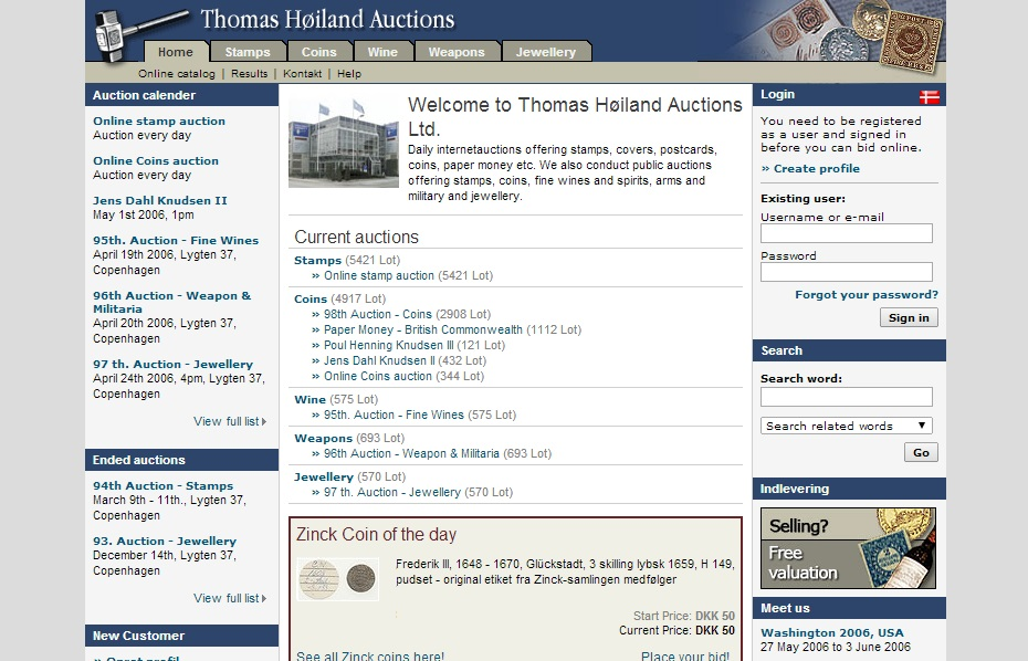 Thomas Høiland Auctions